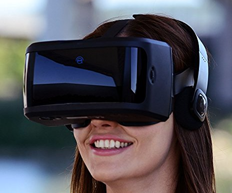 4c8b0c614f7 Damson Audio AuraVisor All-In-One Virtual Reality VR Goggles Headset will  be released on 2016-11-30.