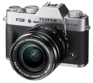 Fujifilm X-T20 Mirrorless Digital Camera - Silver